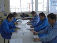 安全会議の写真